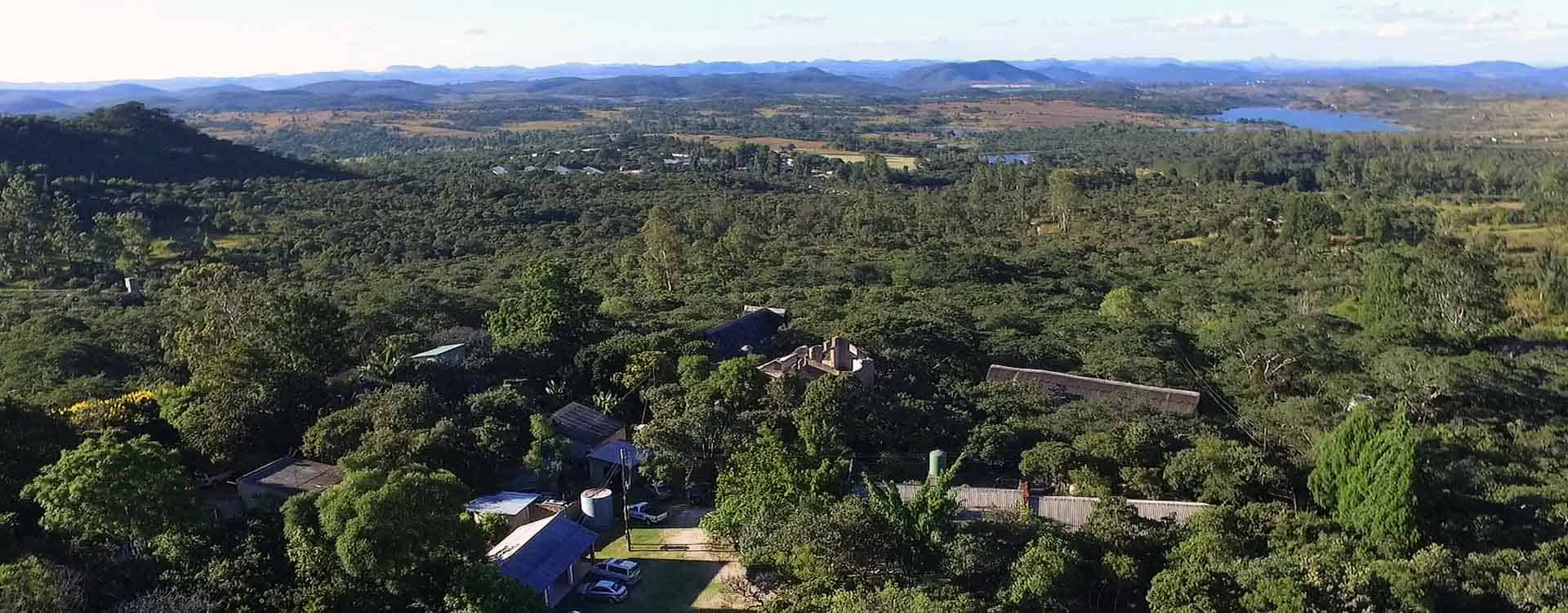 Aerial Tree of Life Adventures Harare