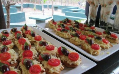 Tree of Life Catering Mini Pizza Roles
